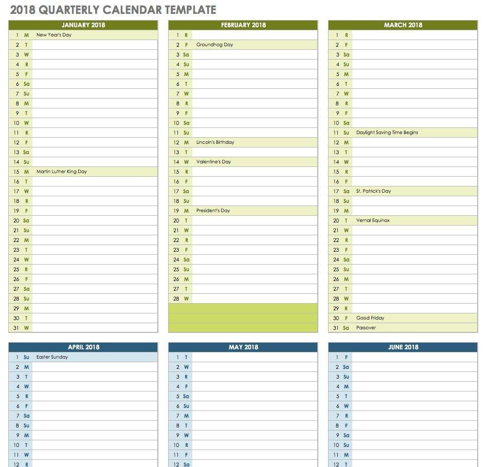 Quarterly Calendar Template Excel – Icard.cmi C Calendar 2019 Excel South Africa