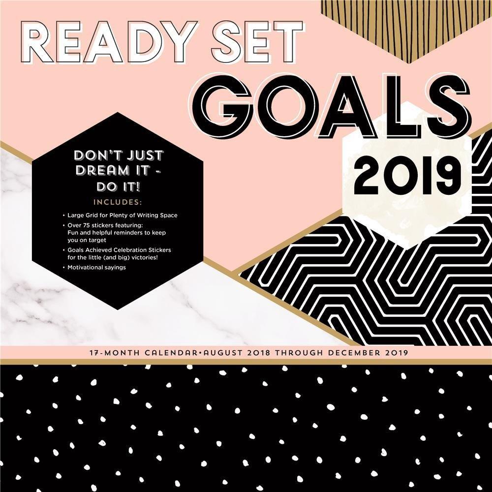 Ready Set Goals! 2019 Calendar – Apollo Rus Calendar 2019 At Target