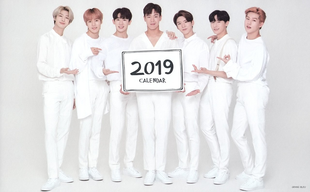 Scan) Monsta X For Tonymoly 2019 Calendar – Monsta X Foto (41731923 Monsta X Calendar 2019