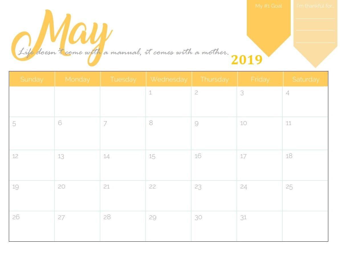 Schedule Template Maker Printable May Calendar Pinterest Generator Calendar 2019 Generator