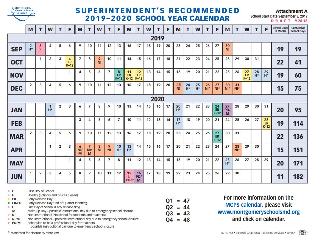 School Board To Vote On 2019 2020 School Year Calendar Tuesday K State Calendar 2019