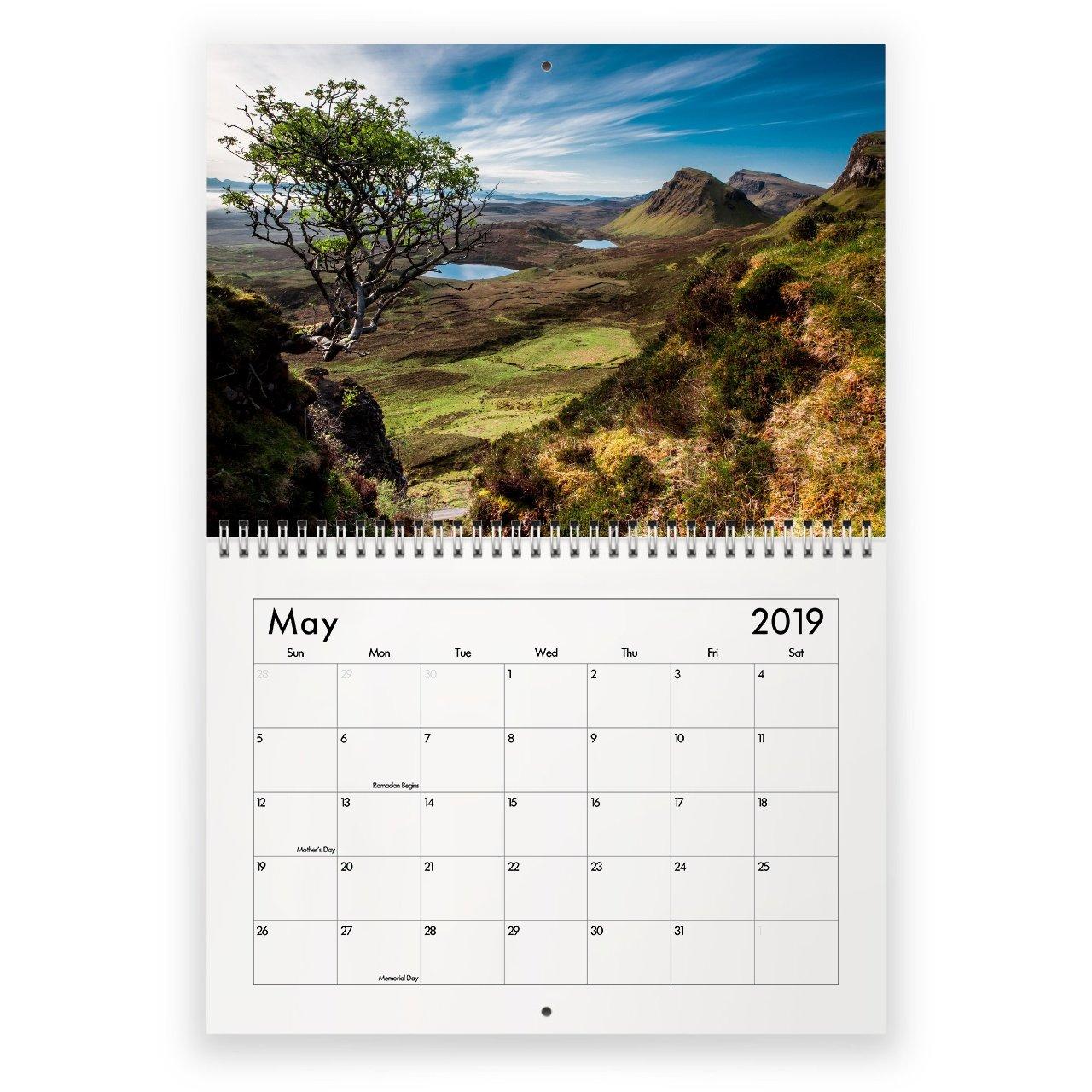 Scotland 2019 Calendar Calendar 2019 Scotland