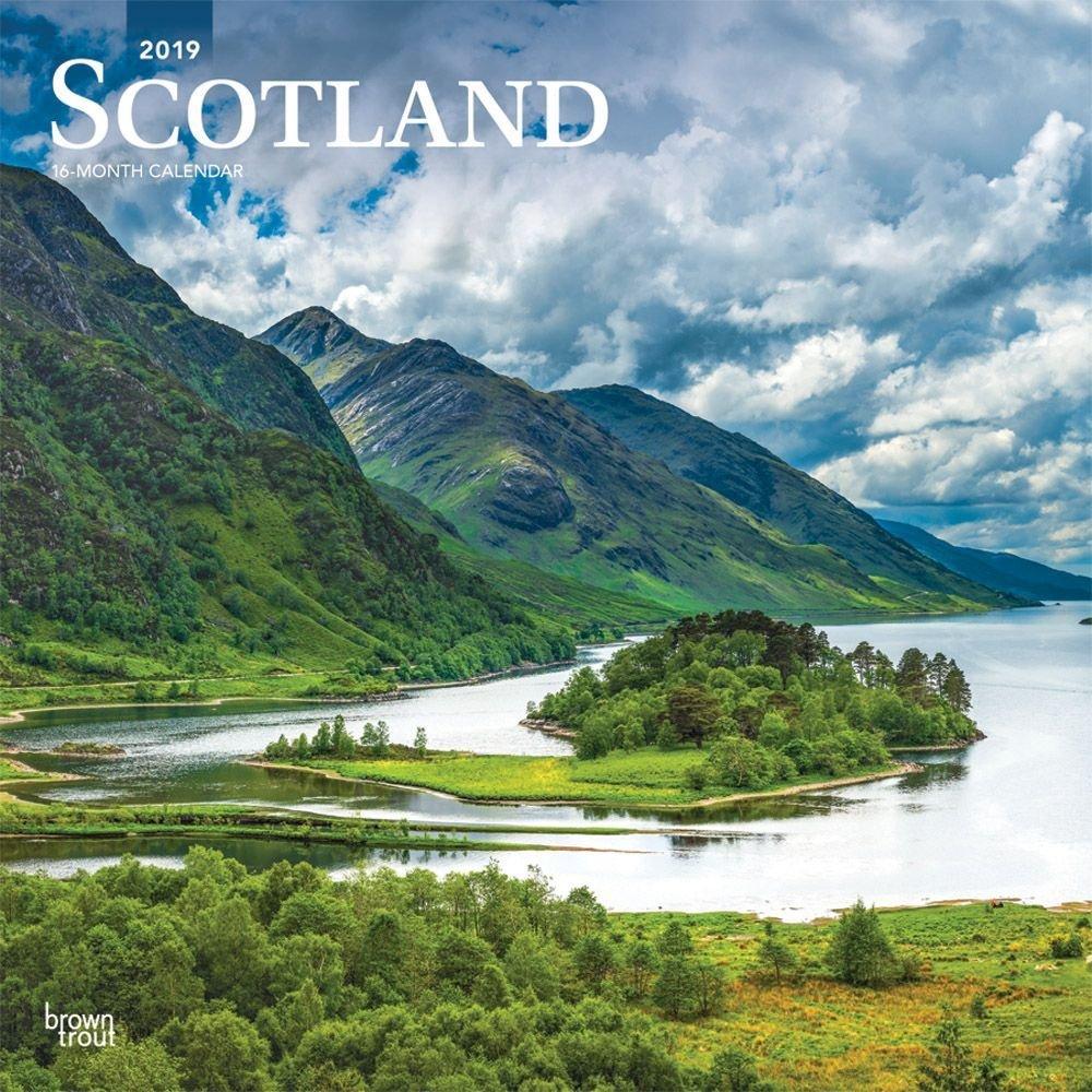 Scotland 2019 Wall Calendar Calendars Books & Gifts – Foodsniffr Calendar 2019 Scotland