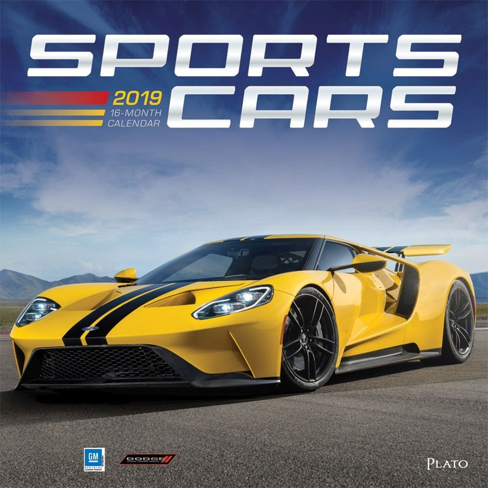 Sports Cars 2019 Wall Calendar Calendars Books & Gifts Calendar 2019 Cars