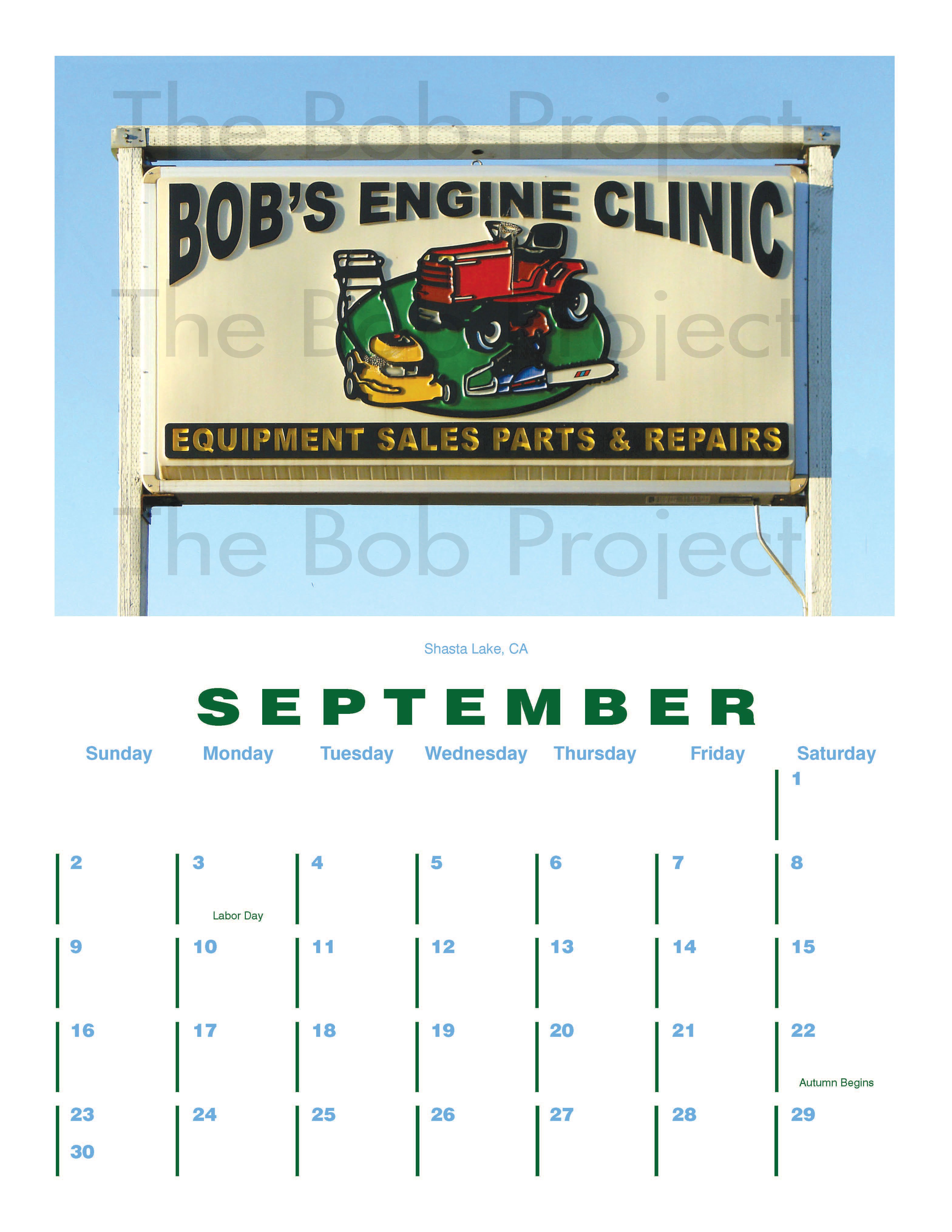 The Bob Project Calendar 2012 J Salmon 2019 Calendar