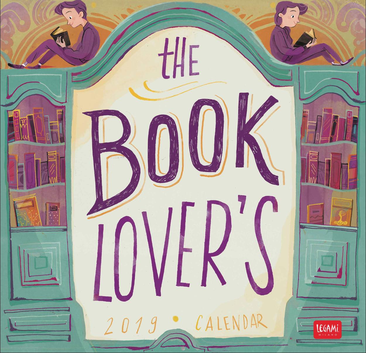 The Book Lover's Calendar 2019 – Flavia Sorrentino Calendar 2019 Book