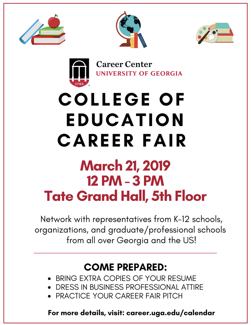 The Coe Connection   Smore Newsletters For Business Uga Academic Calendar 2019 20
