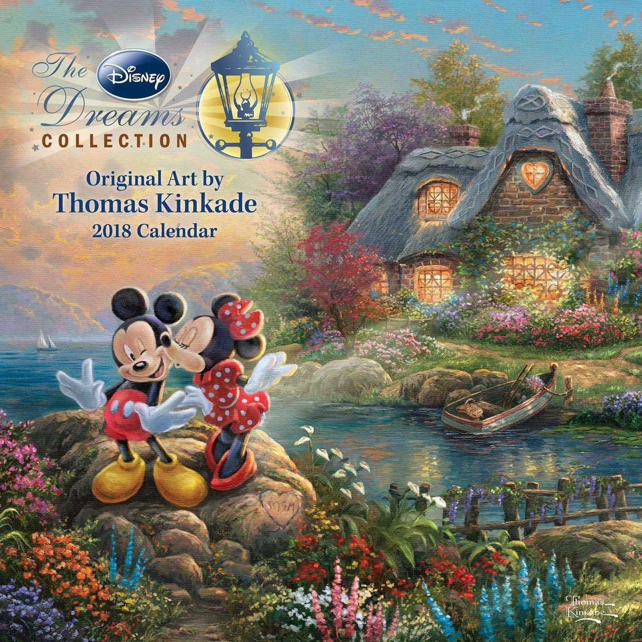 Thomas Kinkade – The Disney Dreams Collection – Calendars 2019 On Calendar 2019 Thomas Kinkade
