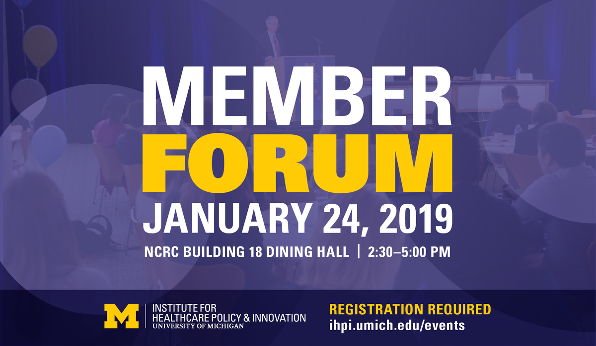 """U M Ihpi On Twitter: """"ihpi Members – Put This On Your Calendar Now Calendar 2019 Umich"""