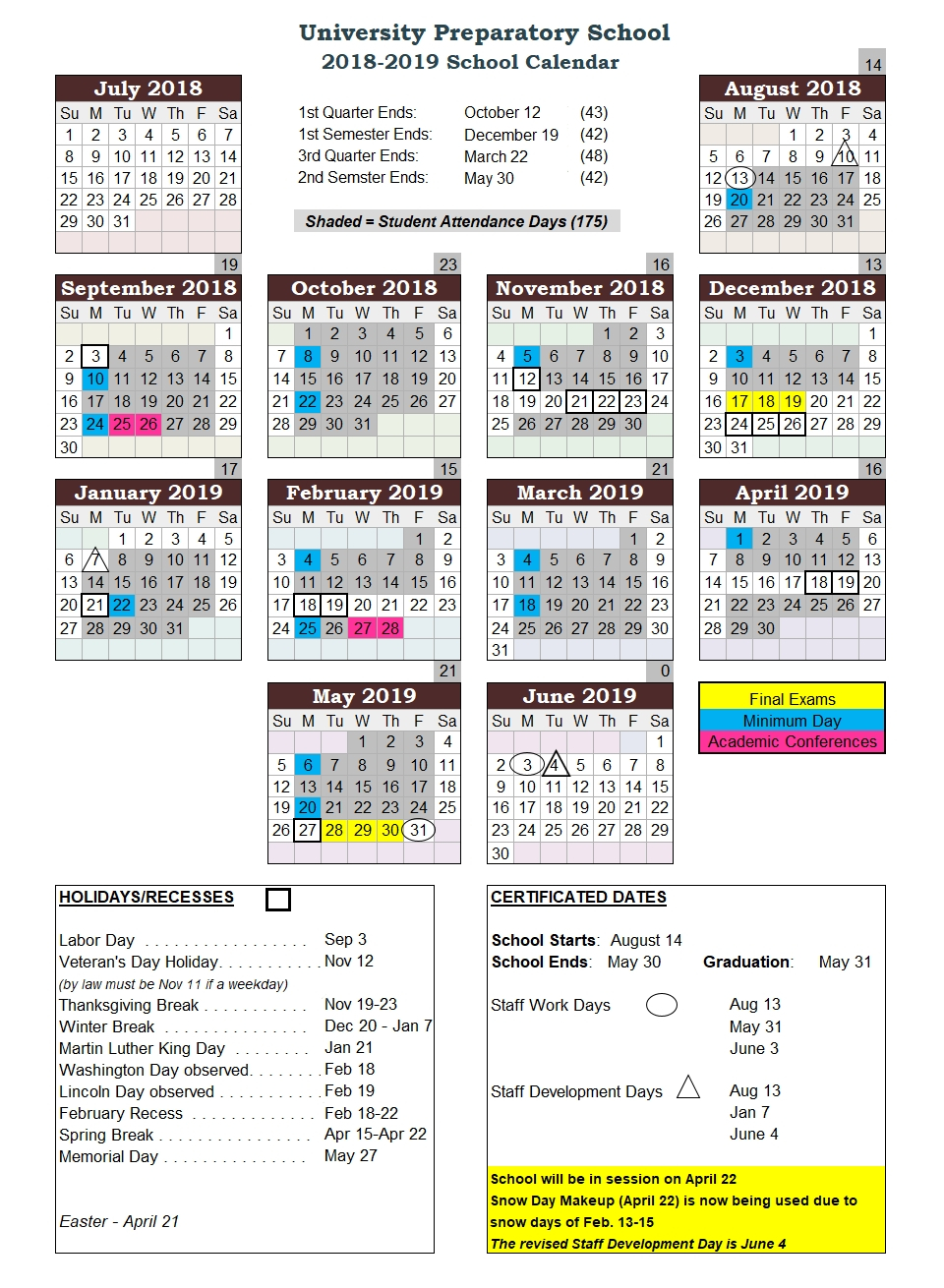 U Of H School Calendar   Calendar Design Ideas U Of A Calendar 2019