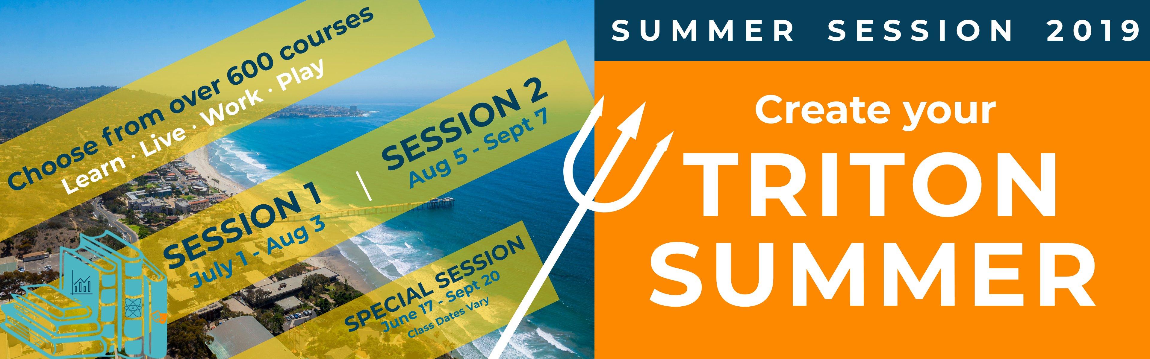 Uc San Diego Summer Session Calendar 2019 Ucsd