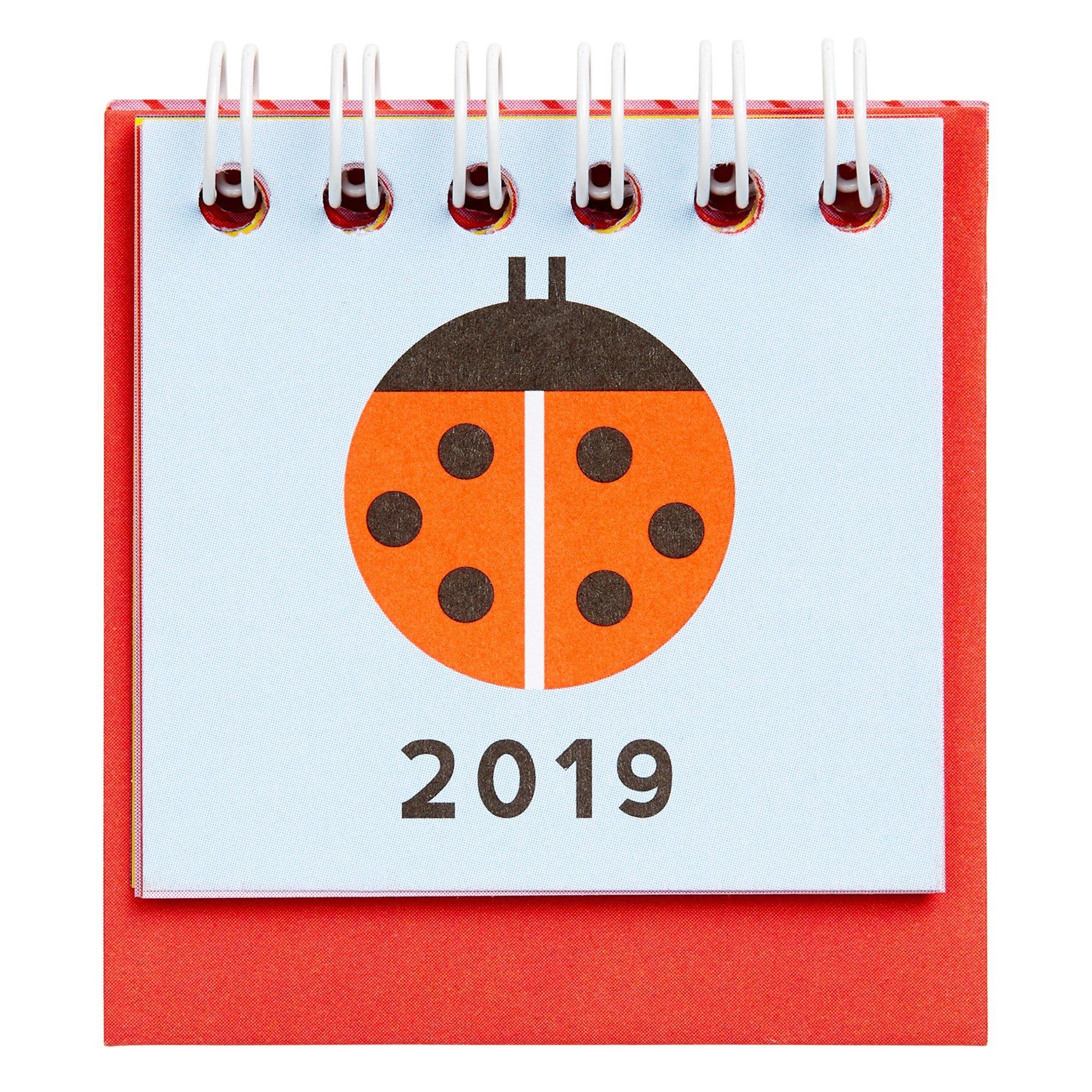 Unishop   Mini Monthly Desk Calendar Kikki K – Kikki.k – Merchandise Kikki K Desk Calendar 2019