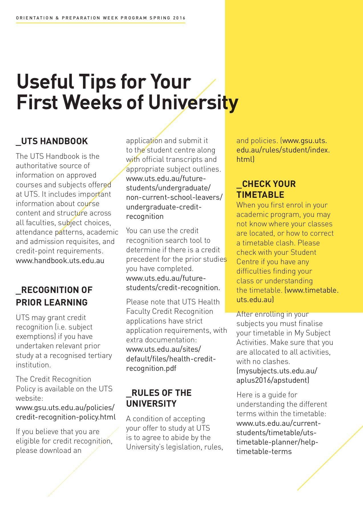 Uts Timetable | Timetable – 2019 03 28 Uts Calendar B 2019