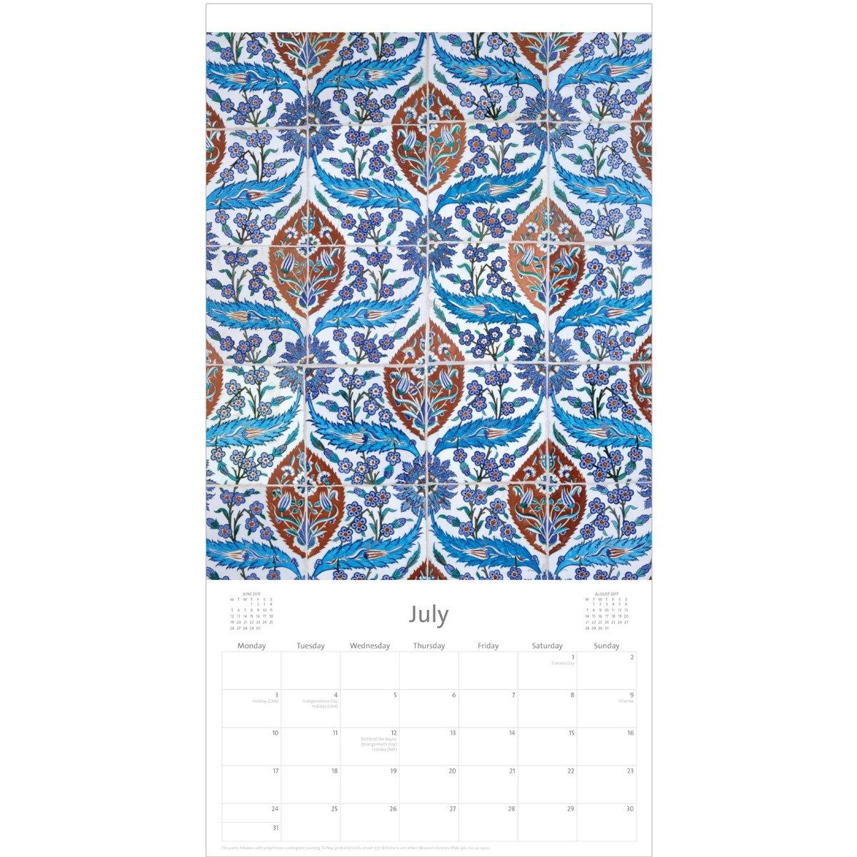 V&a Middle Eastern Patterns Calendar 2017 V&a Calendar 2019