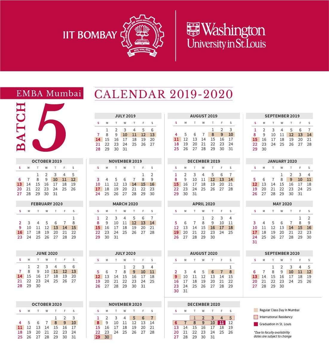 Washu Calendar - Bgadv Washu Calendar 2019