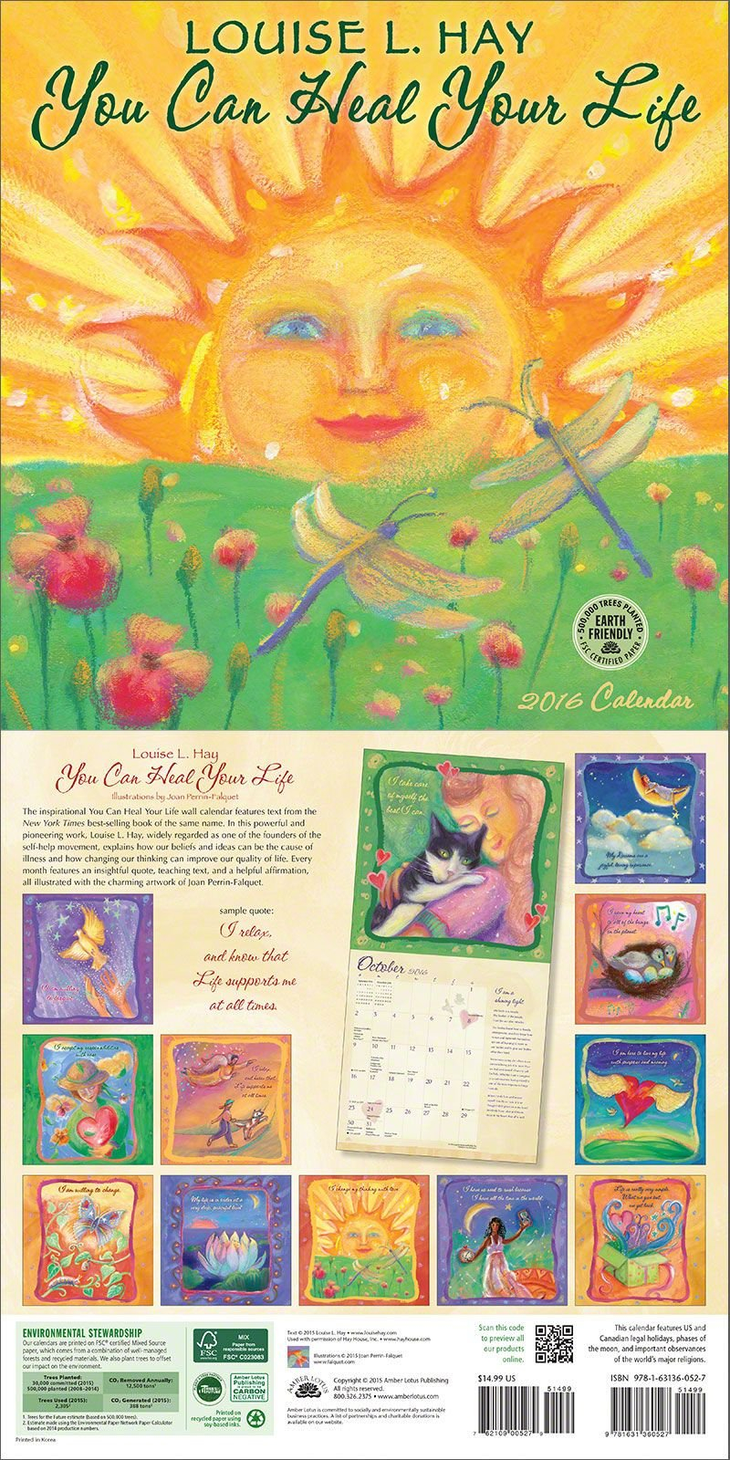 You Can Heal Your Life 2020 Wall Calendar In 2019 | Inspiration Louise L Hay Calendar 2019