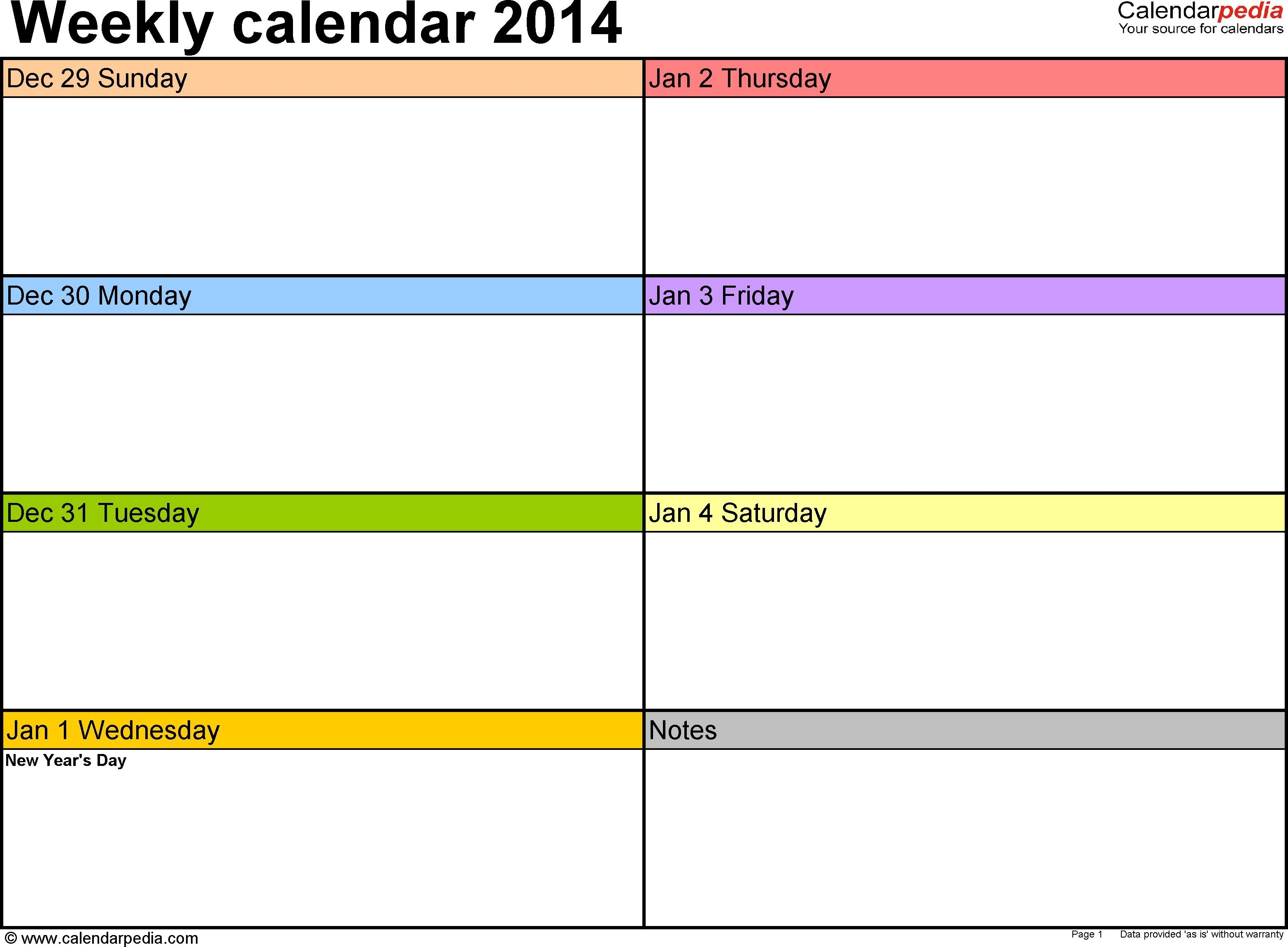 007 Impressive Weekly Schedule Template Word Picture Monday Friday Calendar Template Word