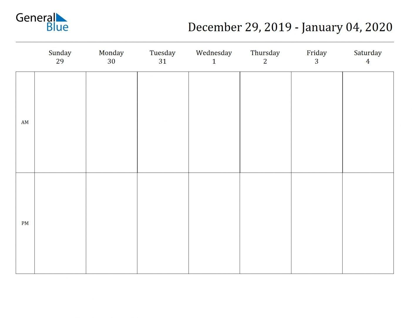 2 Week Blank Calendar 2020 Printable Di 2020 (Dengan Gambar) Free Printable Task Two Week Calendar