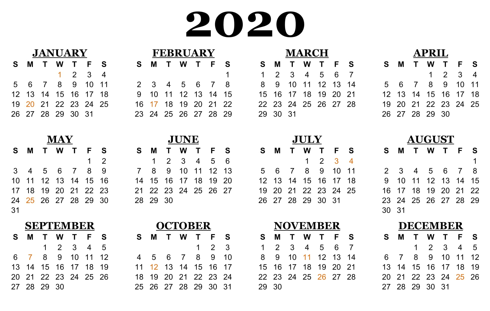 2020 Calendar With Nsw School Holidays   Free Calendar Printable Calenders With Date And Time On 8 1/2 X 11 Paper
