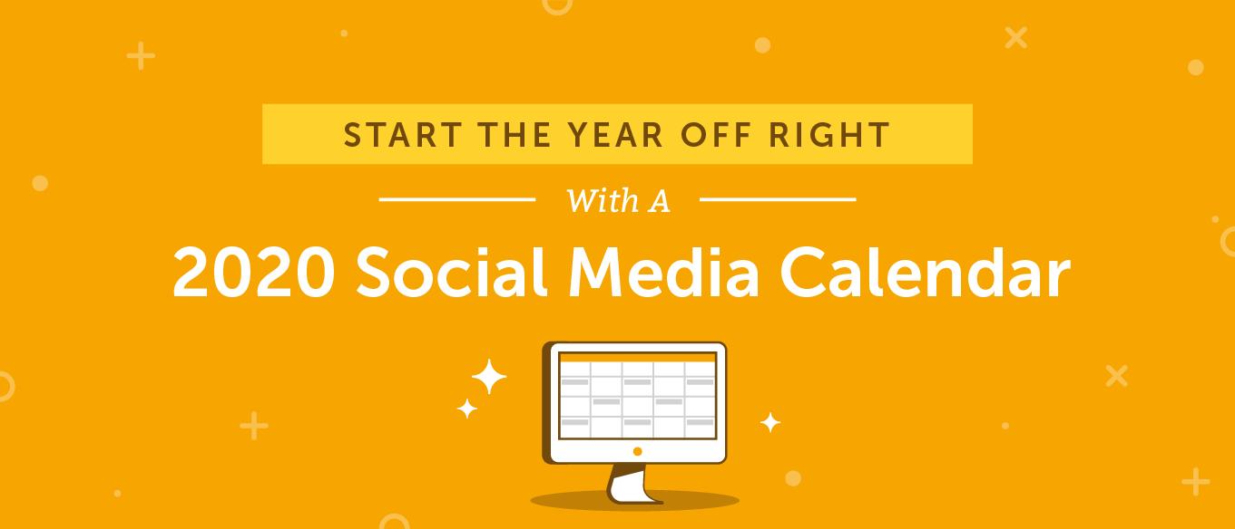 2020 Social Media Content Calendar: How To Easily Plan Every Calendar Sign Up Sheet Template
