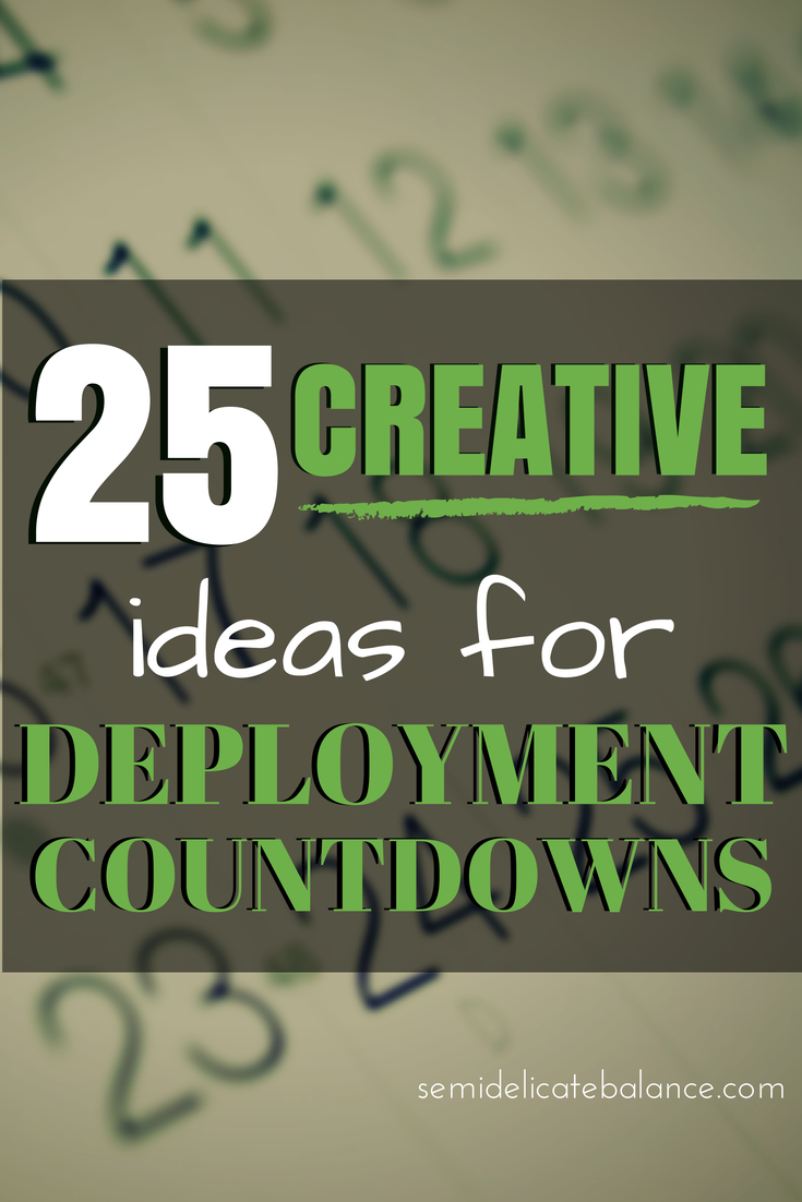 25 Creative Ideas For Deployment Countdowns Short Timer Military Countdown