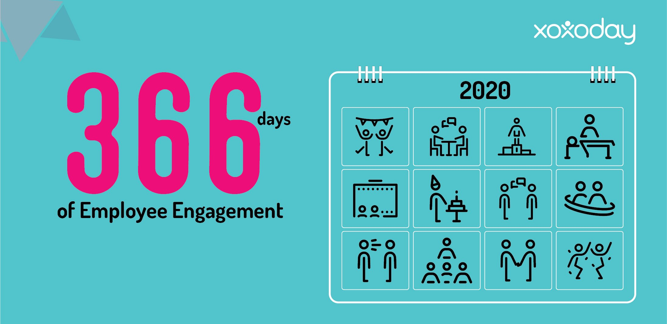 365 Days Of Employee Engagement | Xoxoday Hr Annual Engagment Plan Calender