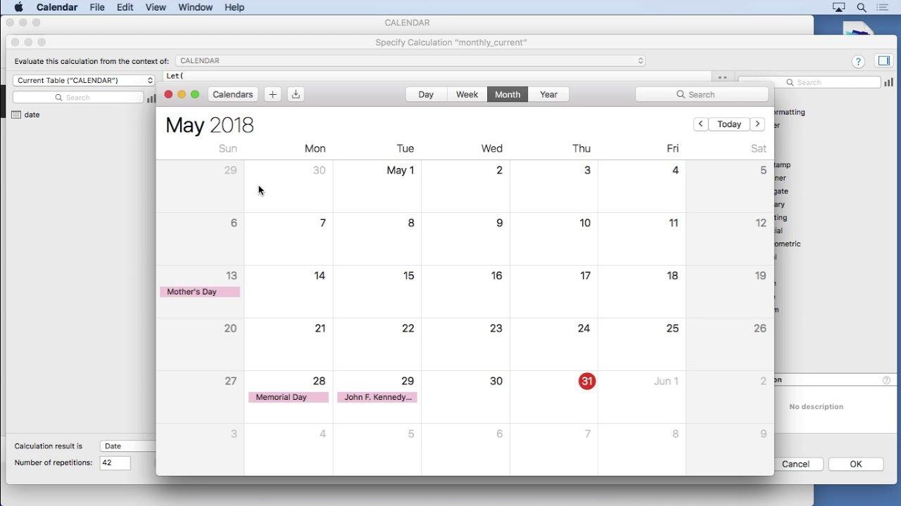 Calendar' In Learning Filemaker   Scoop.it Software Free Calendario Giuliano