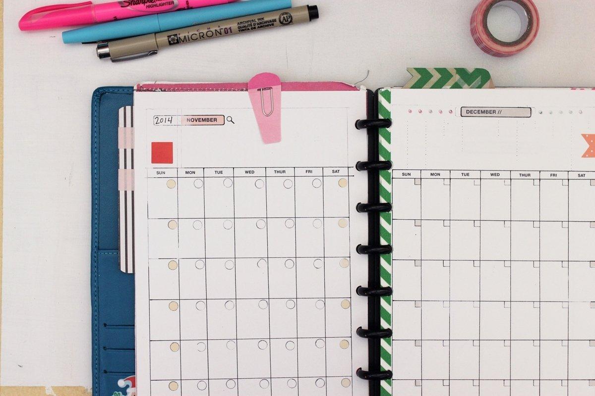 Calendar Template 8.5 X 5.5 | Free Calendar Template Example 5.5 X 8.5 Calendar Template