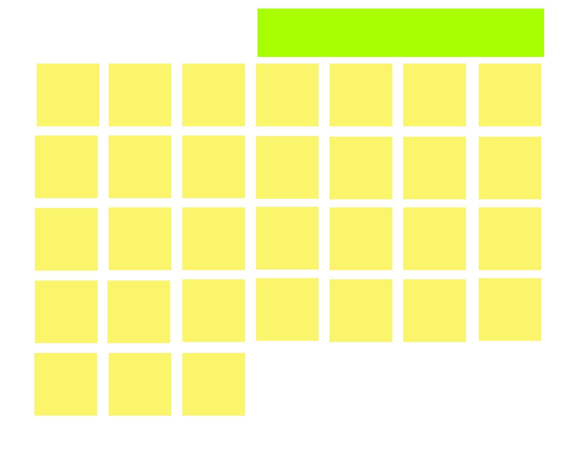 Пустой Календарный Месяц 31 День Бесплатная Фотография Blank 31 Day Calendar Where You Can