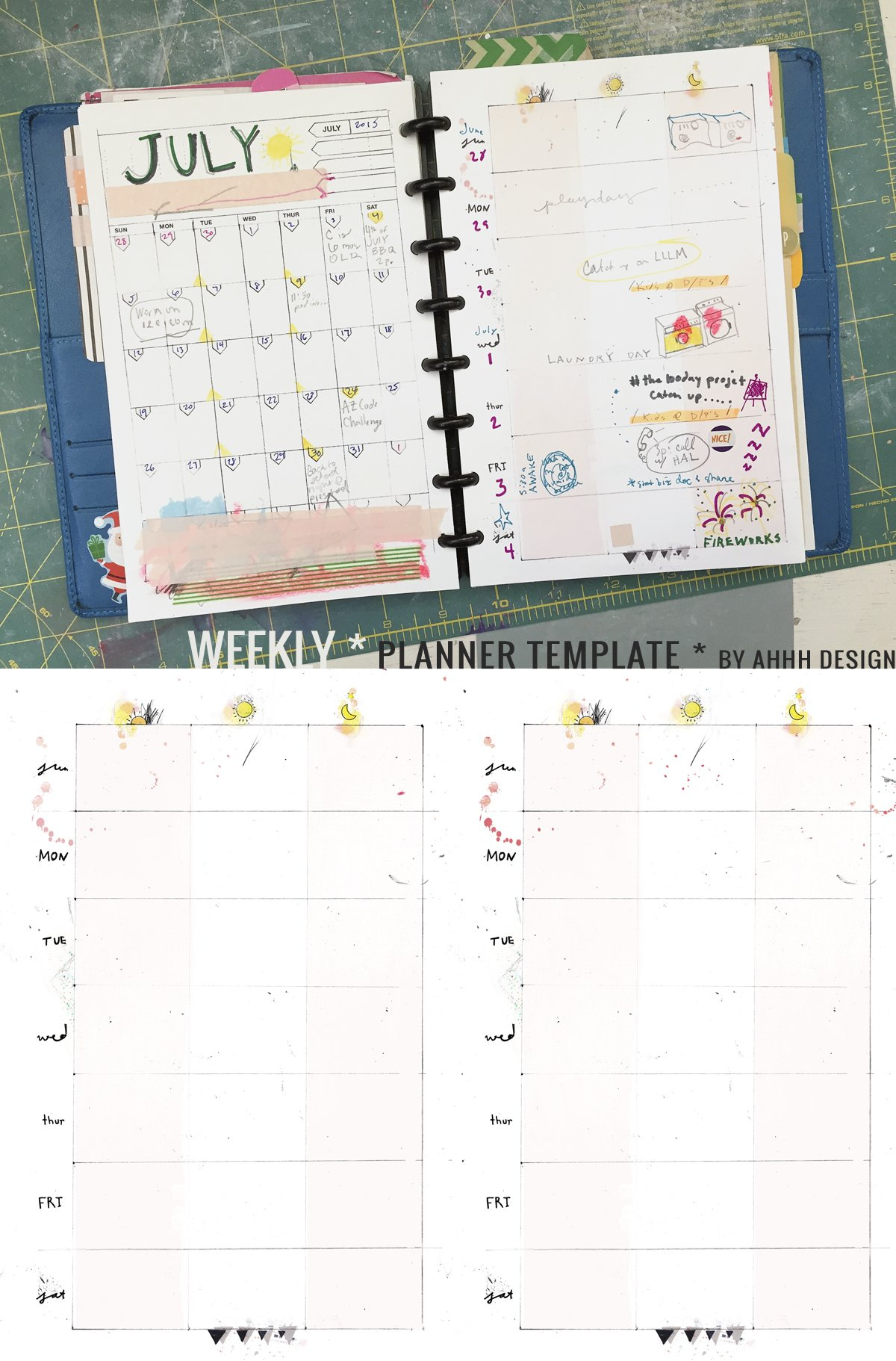 Diy Planner Archives ⋆ Amanda Hawkins   Ahhh Designamanda Show Me Monthly Calendars With Agenda Pages That Are 5.5X8.5