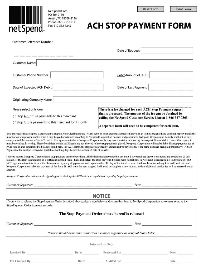Documents Netspend – Fill Out And Sign Printable Pdf Template   Signnow Netspend Ssi Expected Dates