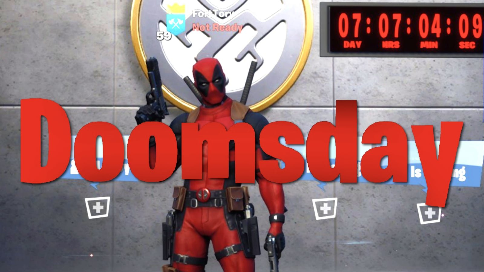 Fortnite Doomsday Event Countdown Reveals Season 2 End Date Short Timer Military Countdown