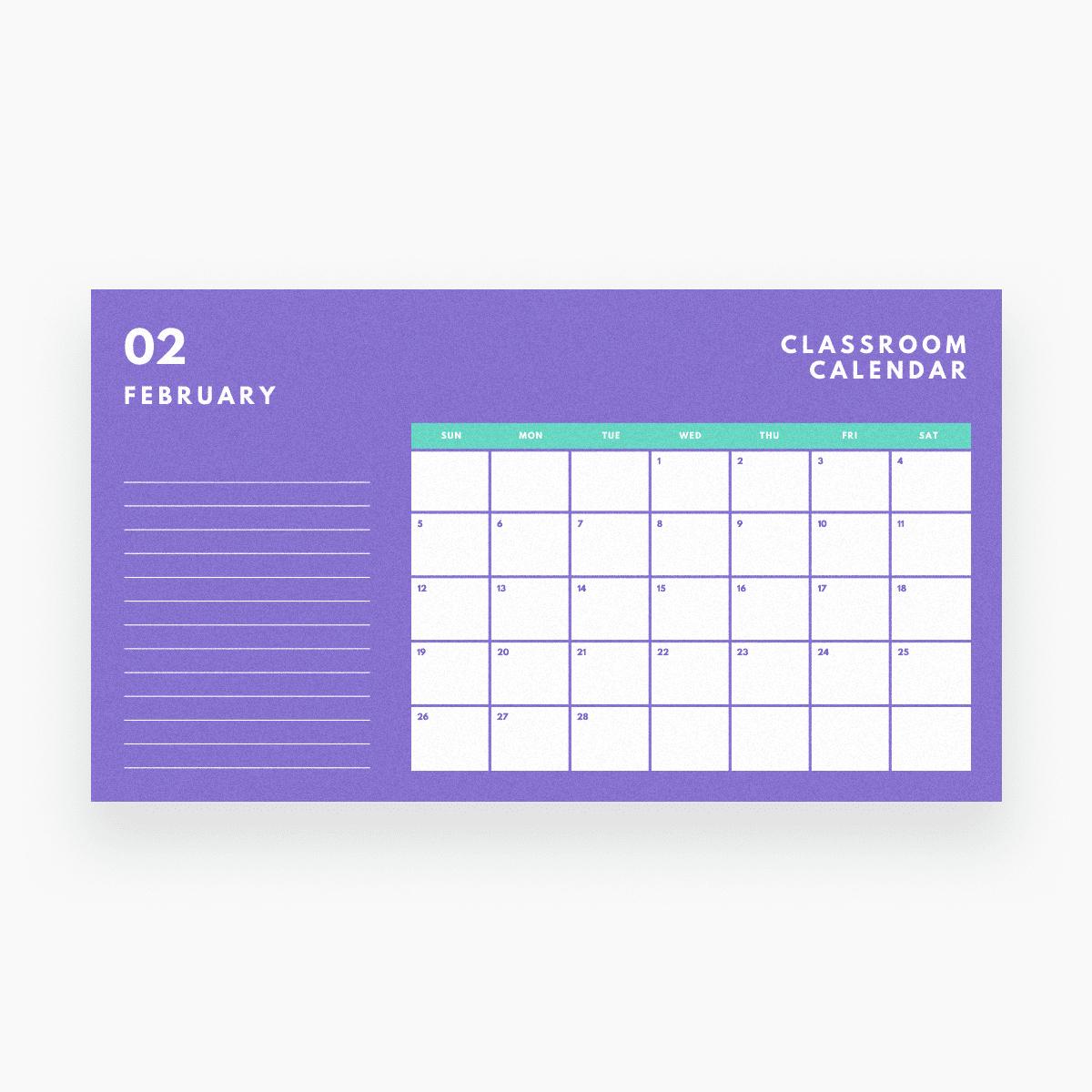 Free Online Calendar Maker: Design A Custom Calendar - Canva Free Calendar To Edit And Save