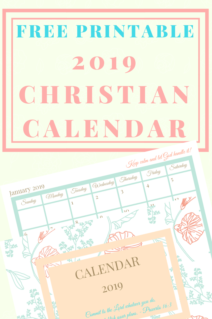 Free Printable 2020 Christian Calendar And Planner Free Printable Church Calendar Templates