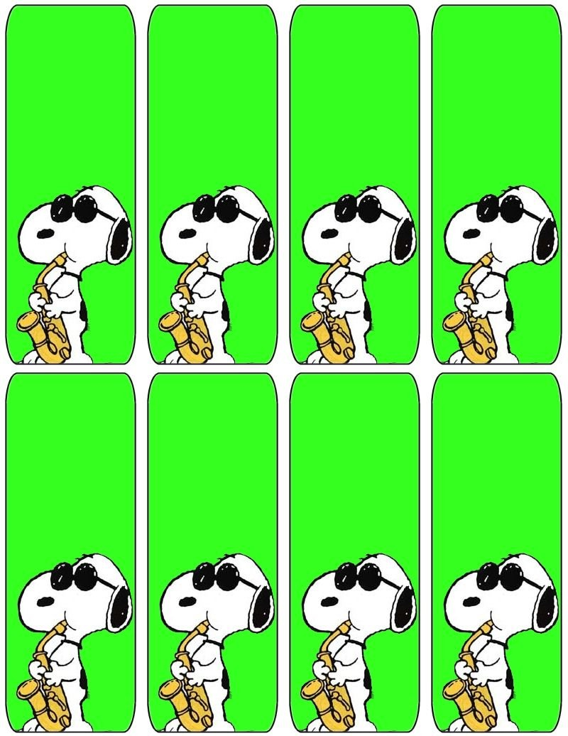 Free Printable Bookmarks. Free To Use And Free To Share For Free Printable Snoopy Images