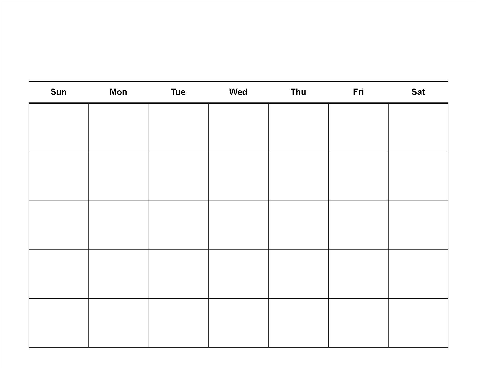 Free Task Planner Templates For You : Vientazona 4 Week Planner Template Word