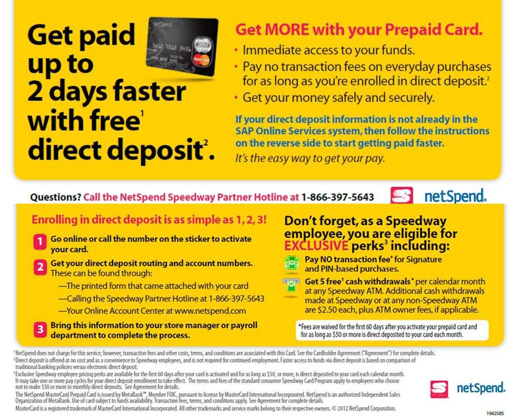 Ftc Says Netspend Decked Consumers With Deceptive Claims For Netspend Ssi Payment Calendar