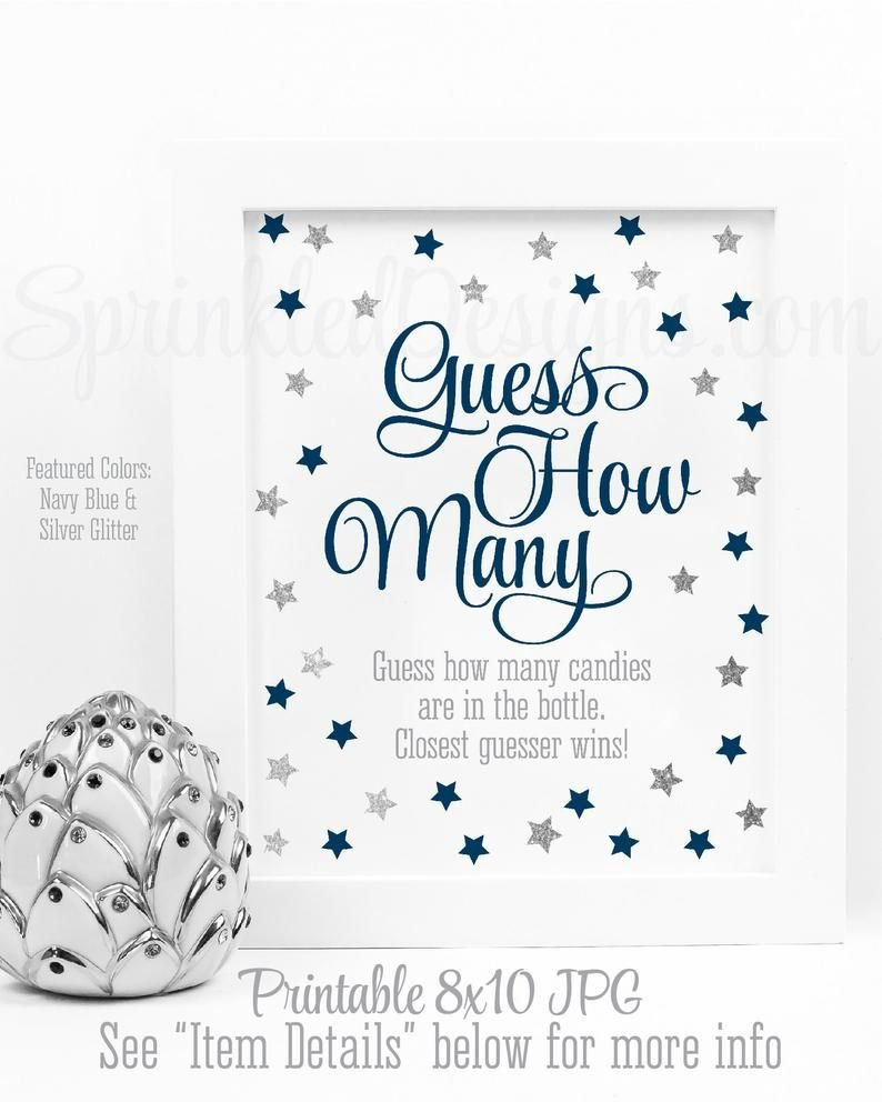 Guess How Many, Candy Guessing Game, Candies In Bottle Guess Baby Birth Details