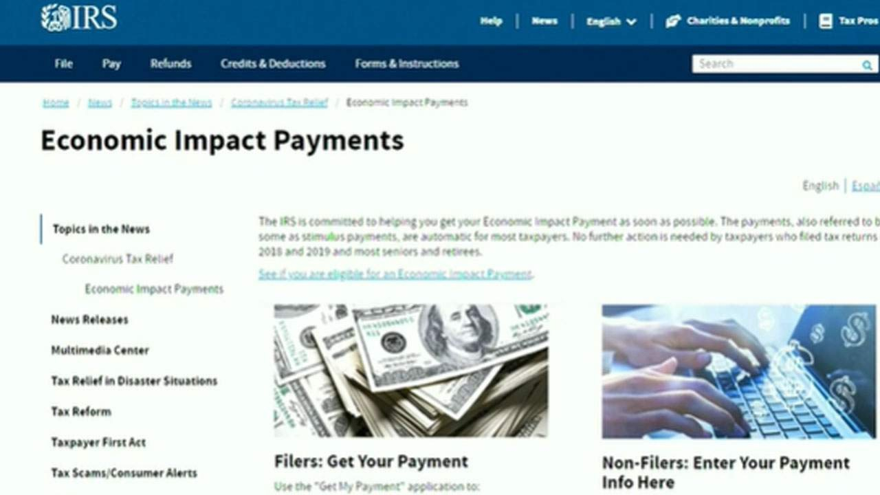 How To Check Your Stimulus Payment Status With The Irs Irs Stimulus Check Tracking