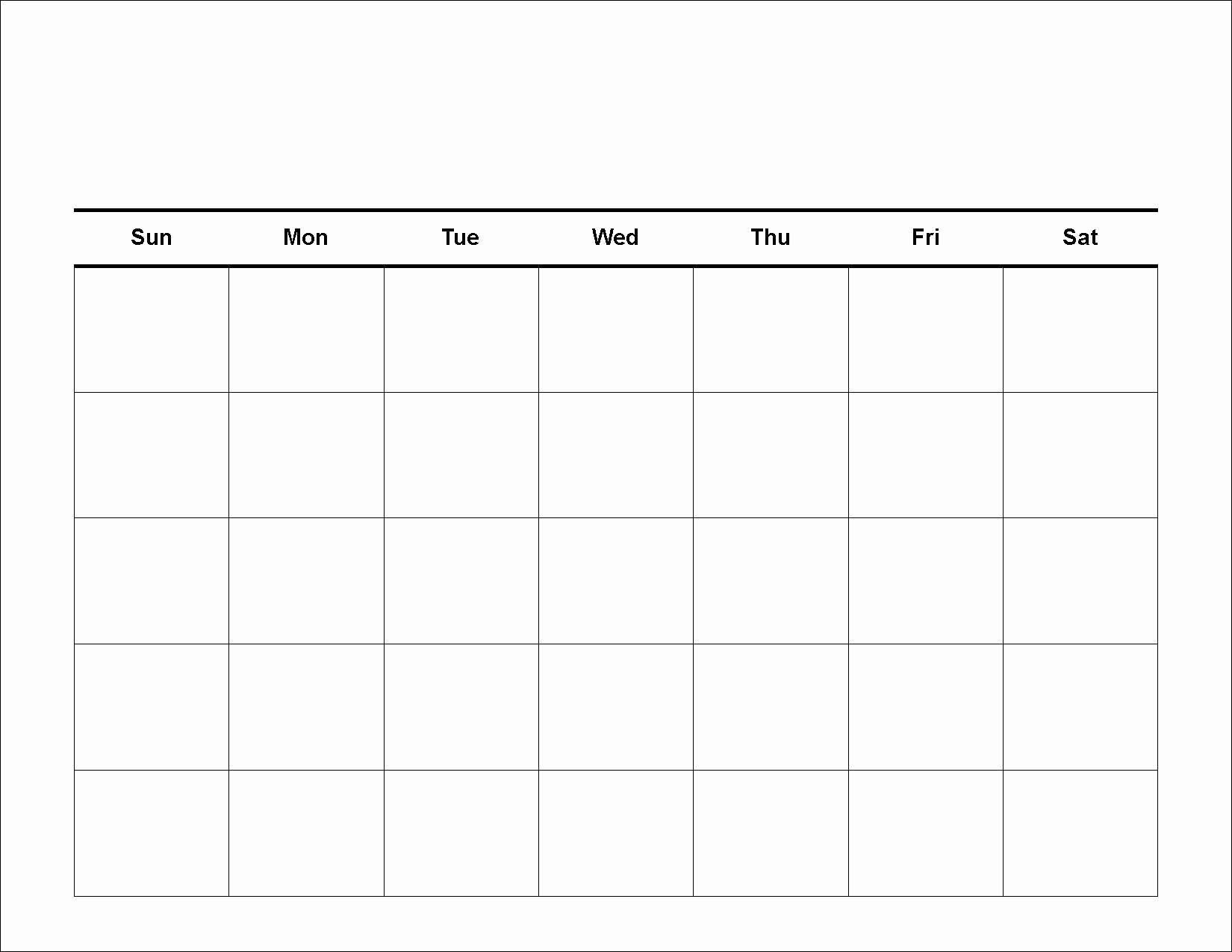 Lovely Blank Weekly Schedule Template In 2020 (With Images 4 Week Calendar Printable