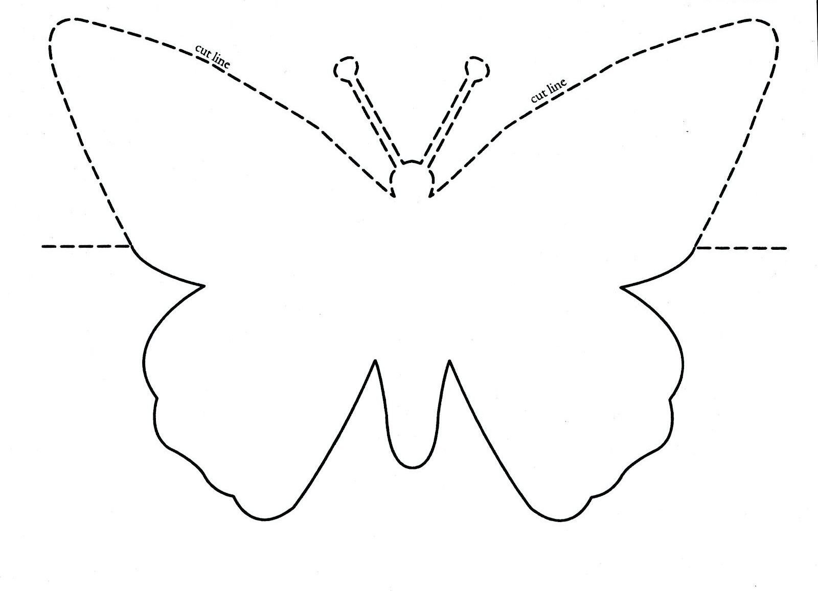 Pinmichelle's Crafts On Ideas In 2020 | Butterfly Feree Blank Butterfy Calendar Month To Fill In