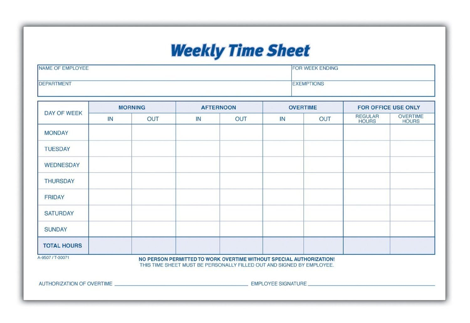 Printable Pdf Timesheets For Employees | Time Sheet Printable Time Sheet Calendar