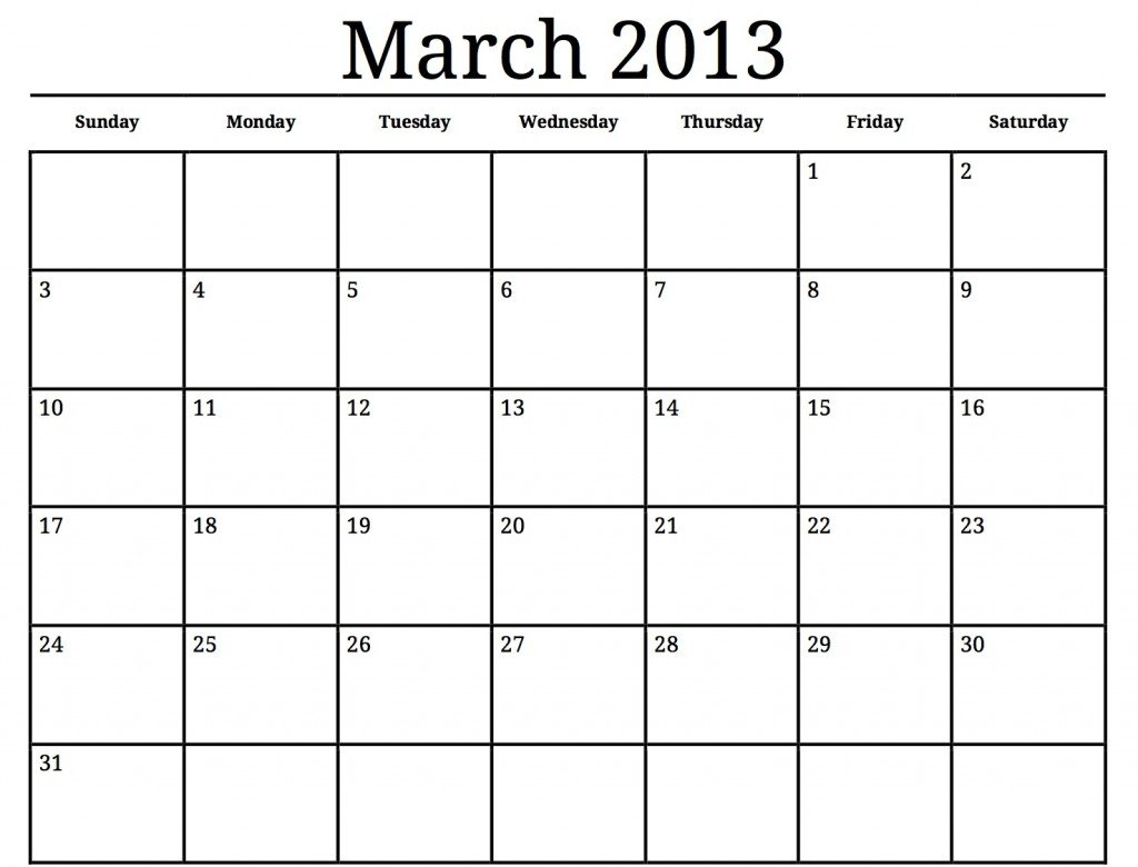 Spring Cleaning Calendar Just For You | Making Lemonade Free Printable Calendar Large Blocks