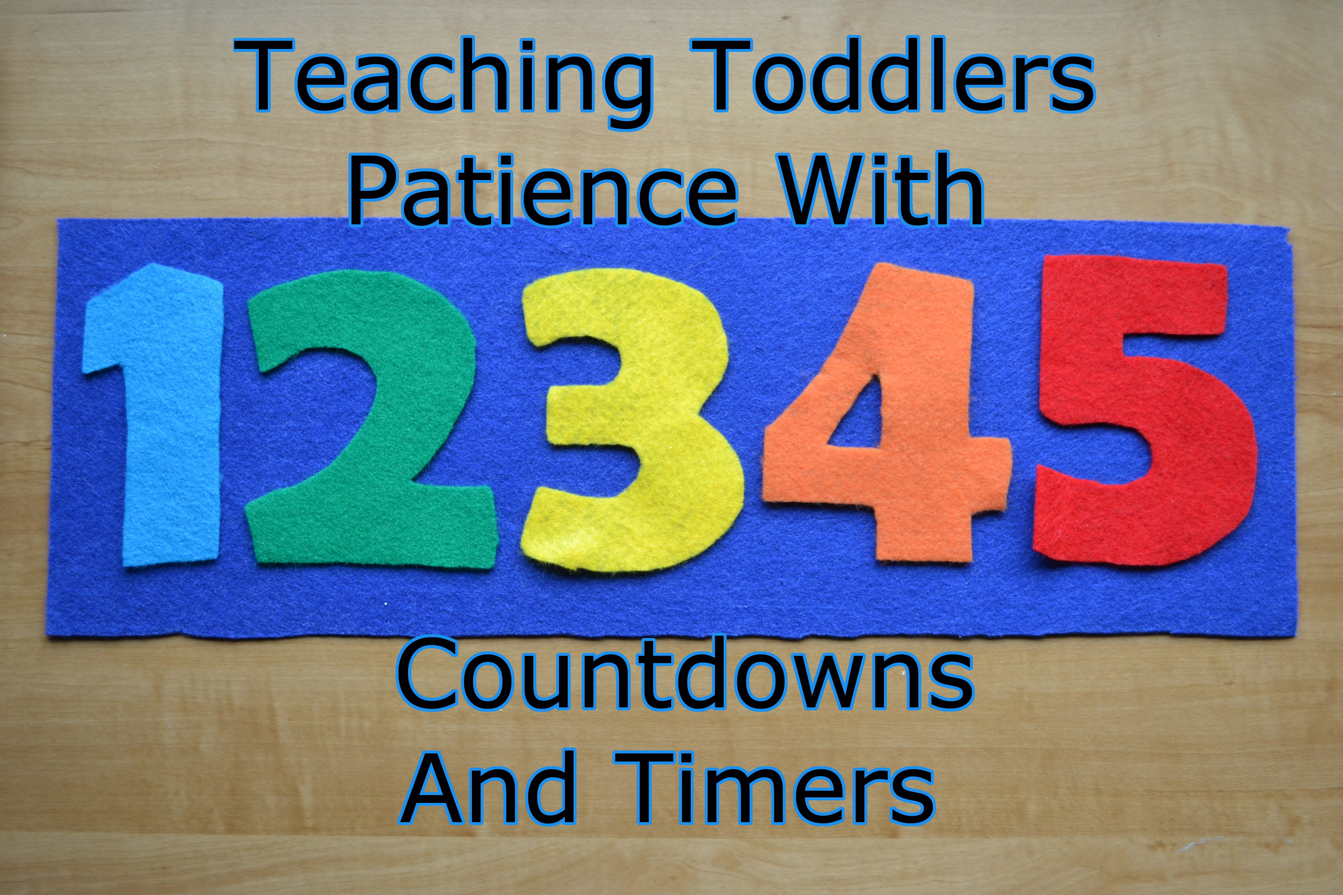Teaching Toddlers Patience With Timers And Countdowns   The Short Timer Military Countdown