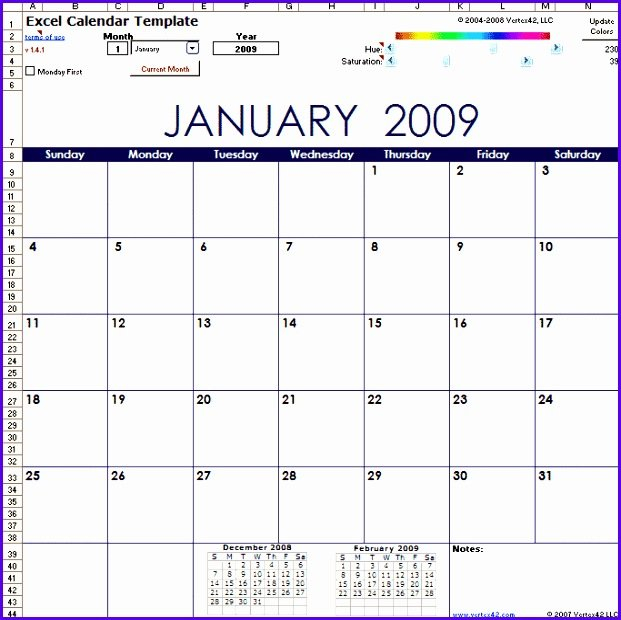 10 Year Calendar Template Excel – Excel Templates – Excel 5 Year Schedule Excel