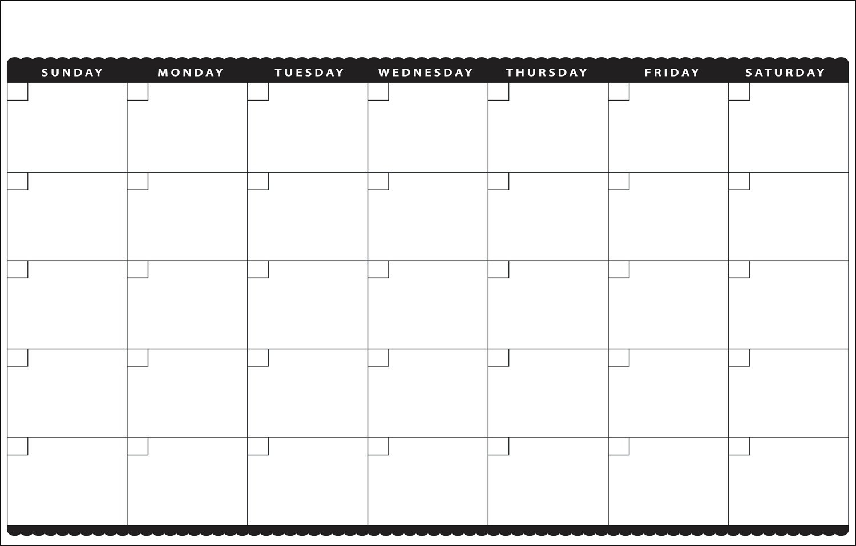 11×17 Calendar Template Word – Printable Week Calendar 1 Week Blank Calendar Printable