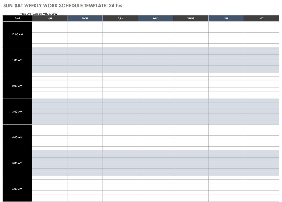 2 Week Schedule Template | Calendar Template Printable 2 Week Schedule Template