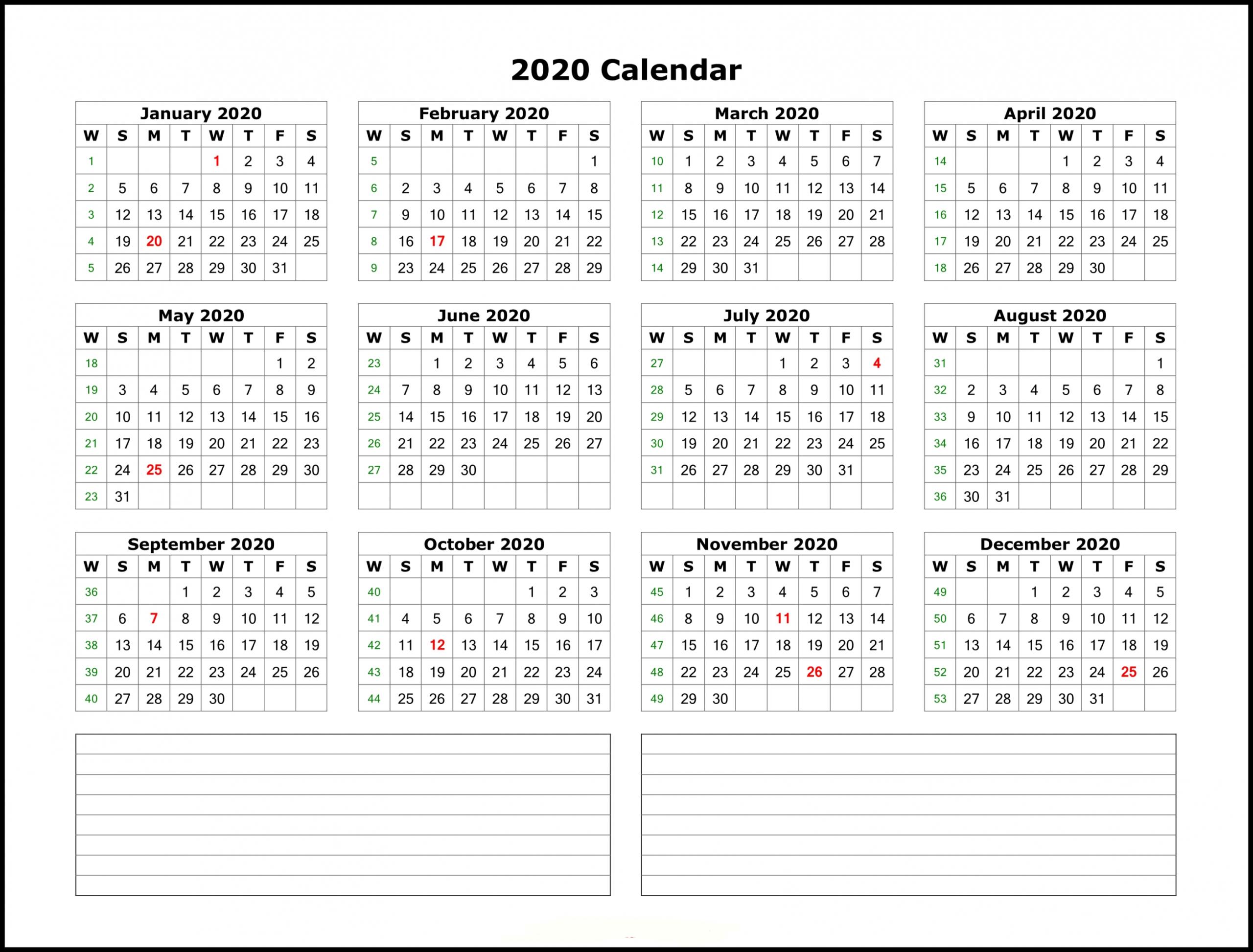 2020 Year Calendar Printable – 2020(이미지 포함)   달력, 배경화면, 패턴 Free Printable 5 Year Calendar