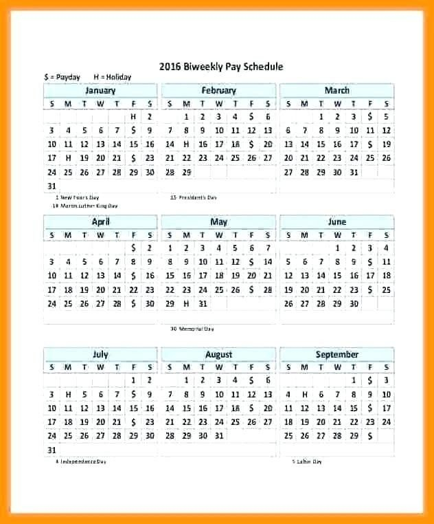 25 Biweekly Payroll Calendar Template 2017 In 2020 Example Of Editable Payroll Calendar