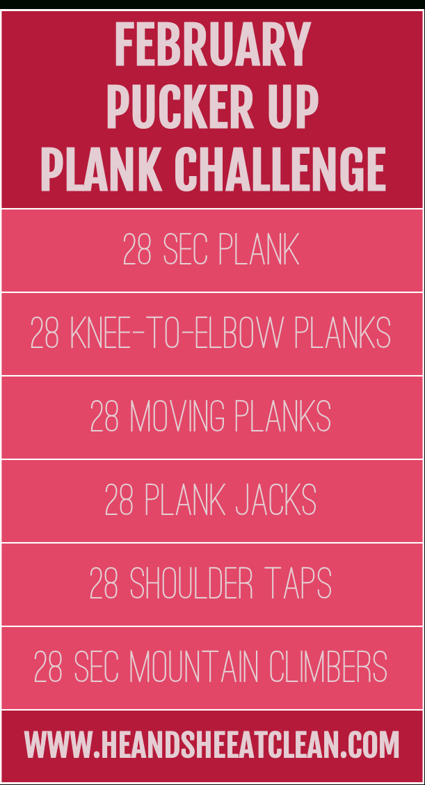 28 Day Plank Challenge With Free Printable Calendar (With Printable Plank Challenge Calendar